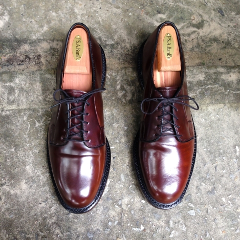 Allen Edmonds Burdundy Shell Cordovan 8.5D